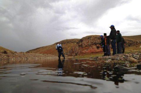 Arequipa: denuncian derrame de relaves mineros en río Colca